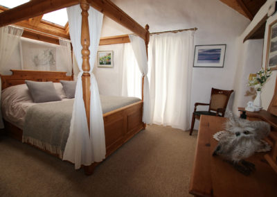 Bedroom at Coorie Cottage