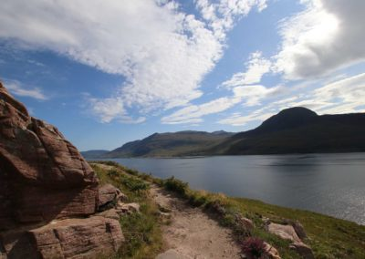 Footpath to Scoraig on Little Lochbroom