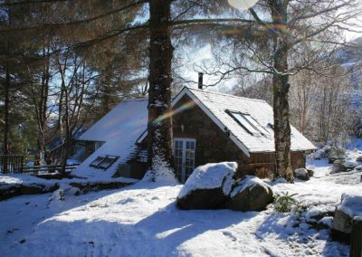 Winter at Coorie Cottage