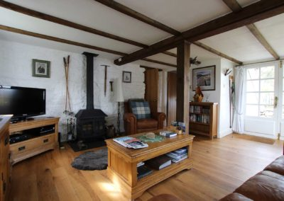 Lounge at Coorie Cottage